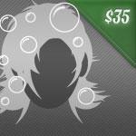 shampoo & blow dry: $35